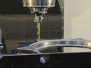 CNC Machining Close-up