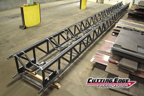 Completed Extendable Conveyor Rail
