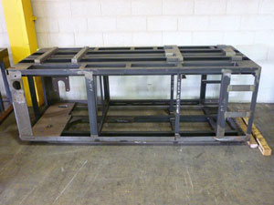 Food Manufacturing Frame Fabrication