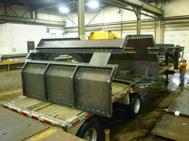 Mild Steel Large Fabrication Shipping