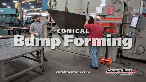 Conical Press Brake Forming