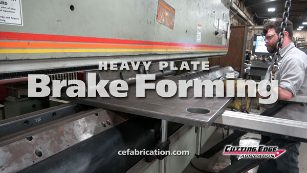 Heavy Plate Press Brake Forming