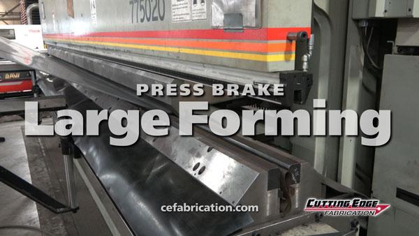 Large Press Brake Forming